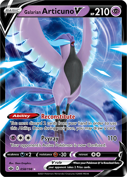 Galarian Articuno V (Chilling Reign 58).png